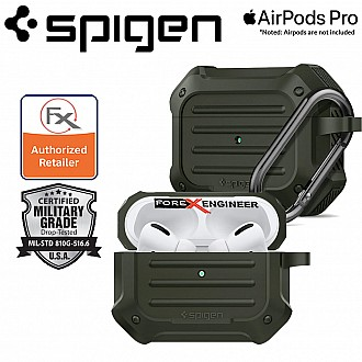 Spigen Tough Armor Case for Airpods Pro -  Military Green Color