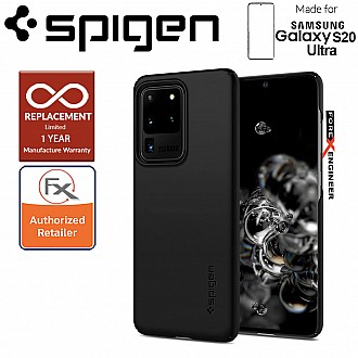 "Spigen Thin Fit for Samsung Galaxy S20 Ultra 6.9"" - Black Color"