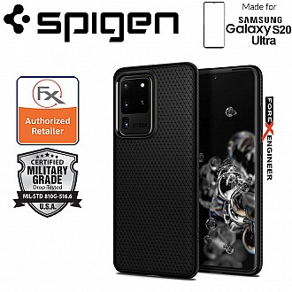 "Spigen Liquid Air for Samsung Galaxy S20 Ultra 6.9"" - Matte Black Color"
