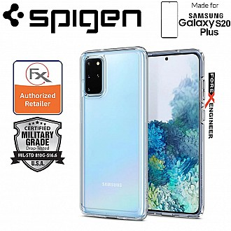 "Spigen Ultra Hybrid for Samsung Galaxy S20+ / S20 Plus 6.7"" - Crystal Clear Color"