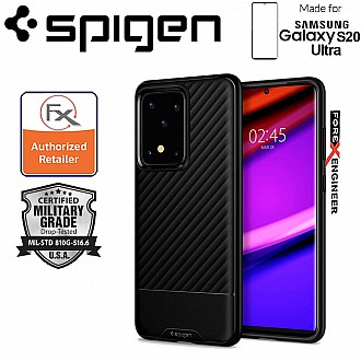 "Spigen Core Armor for Samsung Galaxy S20 Ultra 6.9"" -  Matte Black Color"