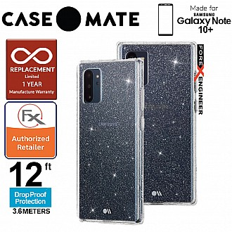 Case Mate Sheer Crystal for Samsung Galaxy Note 10+ / Note 10 Plus  - Clear