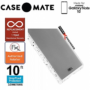 Case Mate Tough Speckled for Samsung Galaxy Note 10 - White