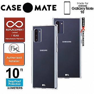 Case Mate Tough for Samsung Galaxy Note 10 - Clear