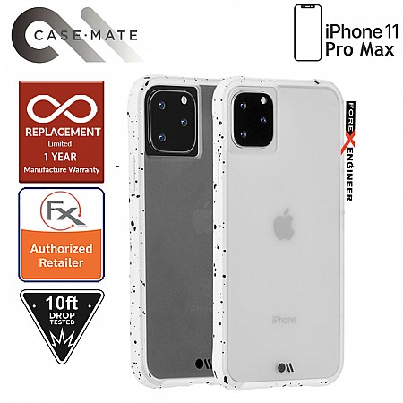 Case-Mate Tough Speckled for iPhone 11 Pro Max - White