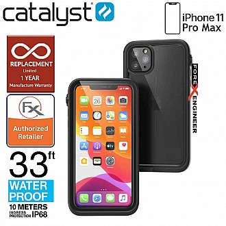 Catalyst Waterproof Case for iPhone 11 Pro Max - Stealth Black