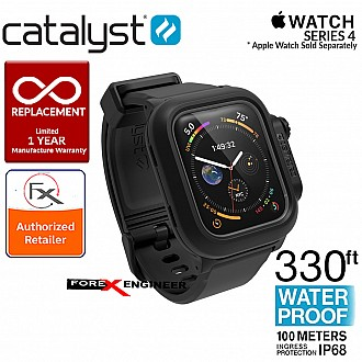 Catalyst Waterproof Case for Apple Watch Series SE / 6 / 5 / 4 - 44mm - Stealth Black