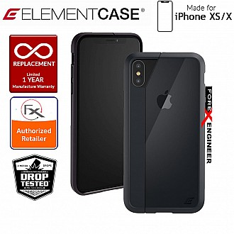 Element Case Illusion for iPhone Xs / X - Military Spec Drop Protection - Black