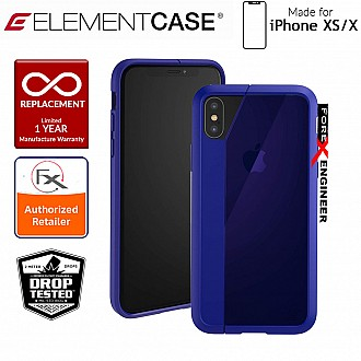 Element Case Illusion for iPhone Xs / X - Military Spec Drop Protection - Blue