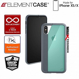 Element Case Illusion for iPhone Xs / X - Military Spec Drop Protection - Green