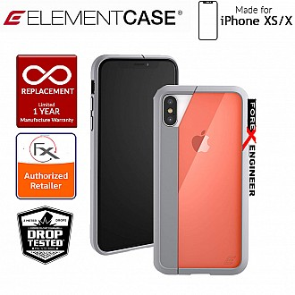 Element Case Illusion for iPhone Xs / X - Military Spec Drop Protection - Orange