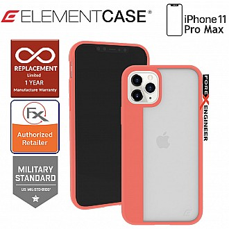 Element Case Illusion for iPhone 11 Pro Max - Coral