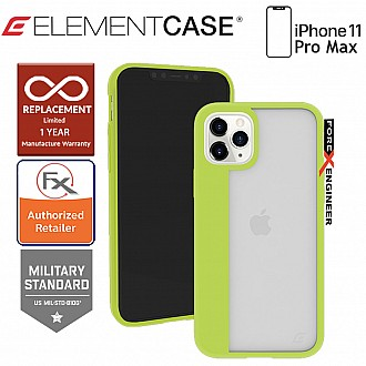 Element Case Illusion for iPhone 11 Pro Max - Electric Kiwi