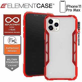 Element Case Rally for iPhone 11 Pro Max - Sunset Red