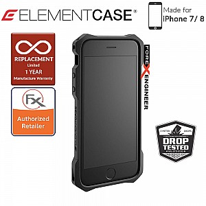 Element Case - Rev (7/8) - Red (Compatible with iPhone SE 2nd Gen 2020) (640947793124)