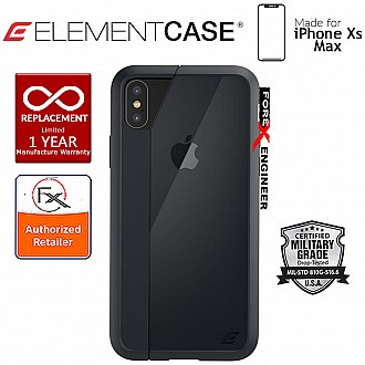 Element Case Illusion for iPhone Xs Max - Military Spec Drop Protection - Black
