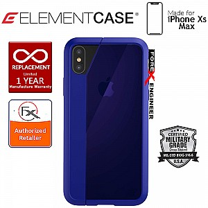 Element Case Illusion for iPhone Xs Max - Military Spec Drop Protection - Blue