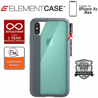 Element Case Illusion for iPhone Xs Max - Military Spec Drop Protection - Green