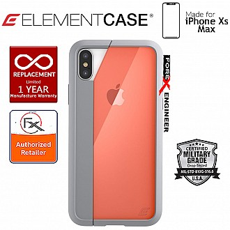 Element Case Illusion for iPhone Xs Max - Military Spec Drop Protection - Orange