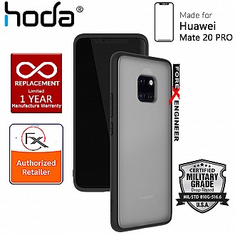 HODA ROUGH Military Case for Huawei Mate 20 Pro - Military Drop Protection - Black