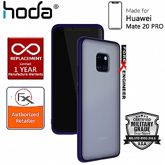 HODA ROUGH Military Case for Huawei Mate 20 Pro - Military Drop Protection - Blue