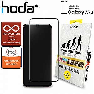 Hoda 0.21mm 2.5D Tempered Glass for Samsung Galaxy A70 (2019) - Evolution Strengthened Edge Clear Screen Protector