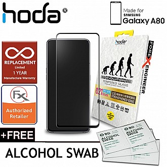 Hoda 0.21mm 2.5D Tempered Glass for Samsung Galaxy A80 (2019) - Evolution Strengthened Edge Clear Screen Protector