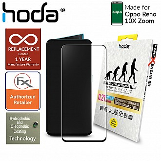 Hoda 0.21mm Tempered Glass for Oppo Reno 10X Zoom - Evolution Strengthened Edge Clear Screen Protector