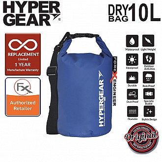 HyperGear Dry Bag 10L - IPX Waterproof Specification - Blue