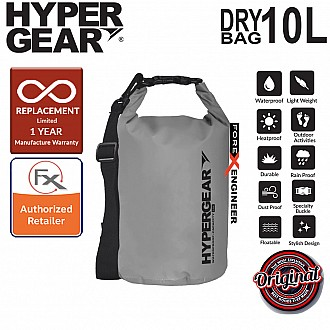 HyperGear Dry Bag 10L - IPX Waterproof Specification - Grey