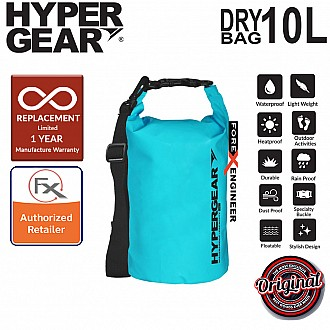 HyperGear Dry Bag 10L - IPX Waterproof Specification - Light Blue