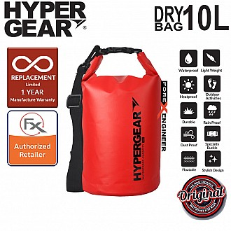 HyperGear Dry Bag 10L - IPX Waterproof Specification - Red