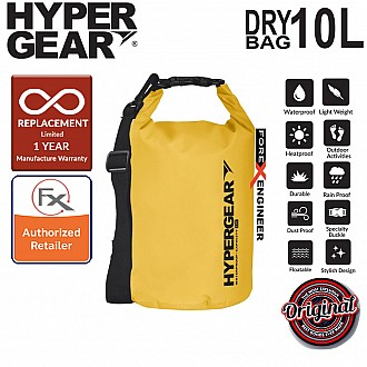 HyperGear Dry Bag 10L - IPX Waterproof Specification - Yellow