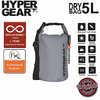HyperGear Dry Bag 5L - IPX Waterproof Specification - Grey
