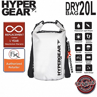 HyperGear Dry Bag 20L - IPX6 Waterproof Specification - Pearl White