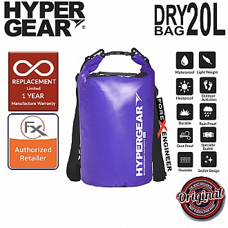 HyperGear Dry Bag 20L - IPX6 Waterproof Specification - Purple