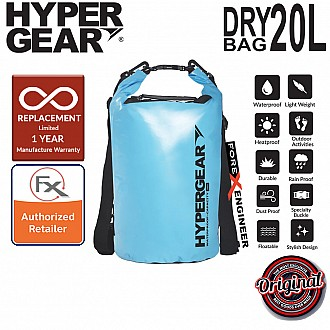 HyperGear Dry Bag 20L - IPX6 Waterproof Specification - Sky Blue