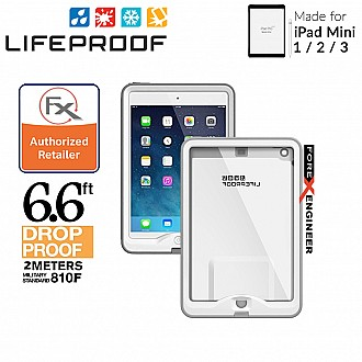 Lifeproof Nuud for iPad Mini 3 / 2 / 1 - Waterproof , Shockproof , Dirtproof - Avalanche White [CLEARANCE - NO WARRANTY]