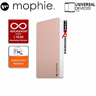 Mophie Powerstation XL 10000mah Universal Powerbank made for smartphone, tablets & USB Devices - Rose Gold