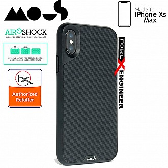 MOUS LIMITLESS 2.0 Case for iPhone Xs Max - AiroShock extremely shockproof protective - Aramid Carbon Fiber