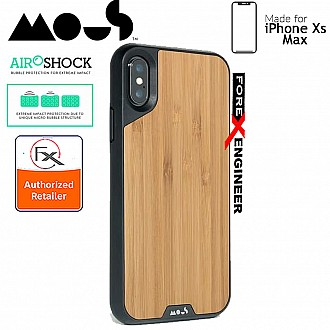 MOUS LIMITLESS 2.0 Case for iPhone Xs Max - AiroShock extremely shockproof protective - Bamboo