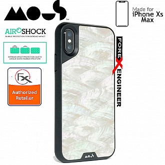 MOUS LIMITLESS 2.0 Case for iPhone Xs Max - AiroShock extremely shockproof protective - White Shell