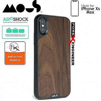 MOUS LIMITLESS 2.0 Case for iPhone Xs Max - AiroShock extremely shockproof protective - Walnut