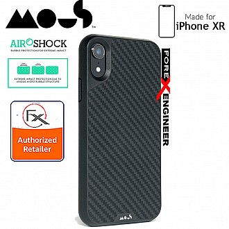 MOUS LIMITLESS 2.0 Case for iPhone XR - AiroShock extremely shockproof protective - Real Aramid Carbon Fibre