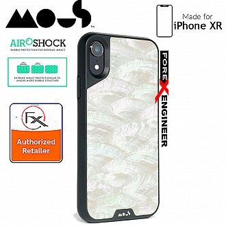 MOUS LIMITLESS 2.0 Case for iPhone XR - AiroShock extremely shockproof protective - White Shell
