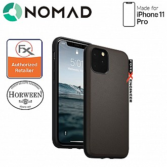 Nomad Active Rugged Case for iPhone 11 Pro - Water resistant leather / Kulit Kalis Air (Mocha Brown)