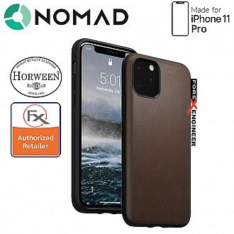 Nomad Rugged Case for iPhone 11 Pro (Rustic Brown)