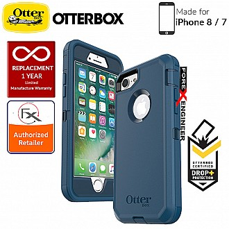 OtterBox Defender Series for iPhone 8 / 7 - Bespoke Way (Compatible with iPhone SE 2nd Gen 2020) (660543402084)