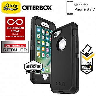 OtterBox Defender Series for iPhone 8 / 7 - Black