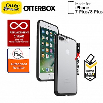 OtterBox Symmetry Clear Series for iPhone 8 Plus / 7 Plus - Black Crystal